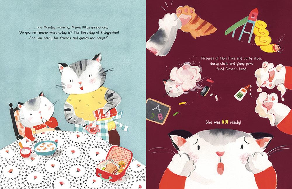 Clover Kitty Goes To Kittygarten-1