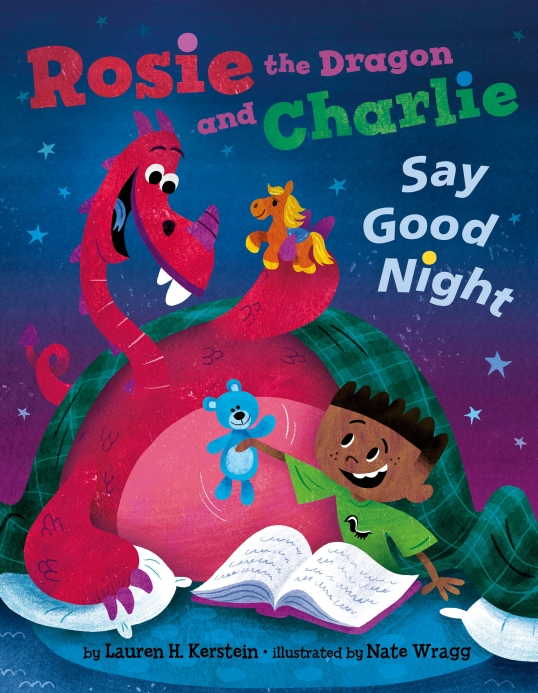 Rosie The Dragon Say GoodNight-Cover