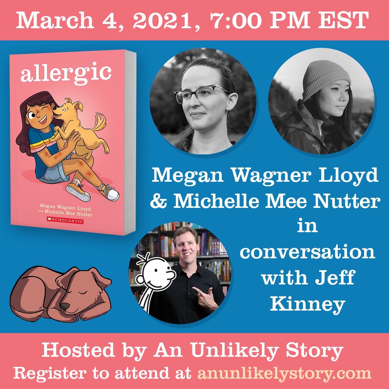 Allergic Tour - 03.04.21 - Jeff Kinney
