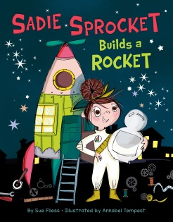 Sadie Sprocket Builds a Rocket_Cover