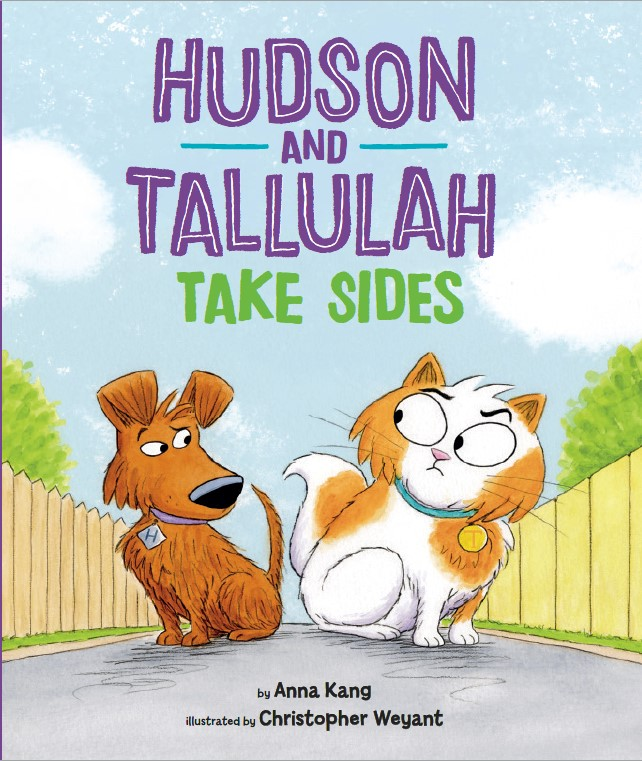 Hudson and Tallulah Take Sides_Cover