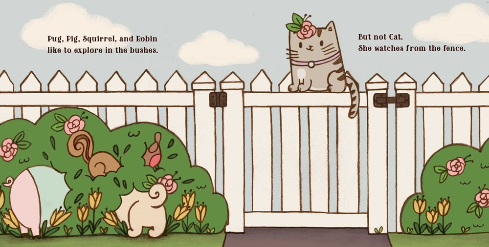 Interior illus © 2021 Joyce Wan from PUG & PIG AND FRIENDS by Sue Lowell Gallion 3