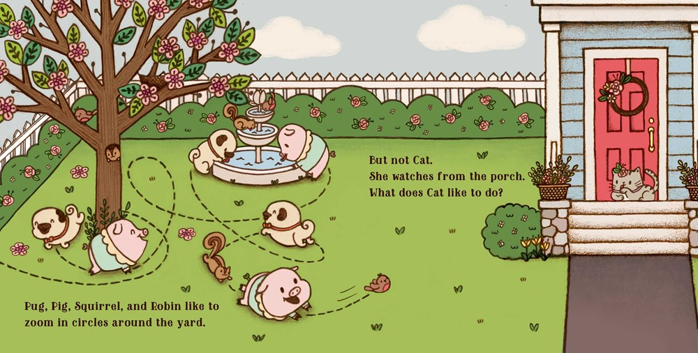 Interior illus © 2021 Joyce Wan from PUG & PIG AND FRIENDS by Sue Lowell Gallion 4